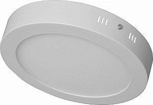 Luminaria Led Plafon Sobrepor Redonda 12W - 3000K / 6000K