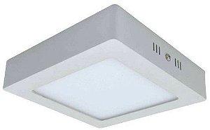 Luminaria Led Plafon Sobrepor Quadrado 25W - 3000K / 6000K