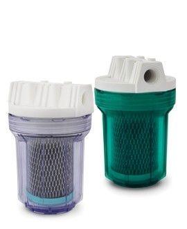 """Filtro Completo Aquafresh Clean 5"""" TR Azul Carbon Bloc POU p/ Cozinha, Banheiro, Lavadoras. . ."""