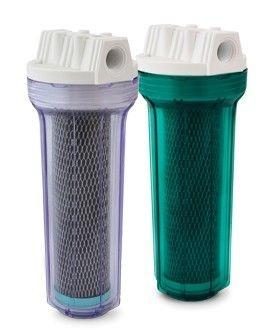 "Filtro Completo Aquafresh Clear 10"" TR Carbon Block - Ponto de uso"