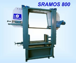 A- Maquina de serra fita SRamos 800 E-D- Dupla Coluna