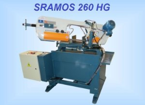 A9-SERRA FITA SRAMOS 260HG- Subida automatica e tesoura Giratoria -Em 10 vezes nos cartões.