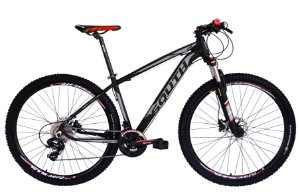 Bicicleta 29 South 27 Marchas Shimano Freio Hidraulico Susp c/ Trava