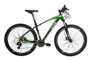 Bicicleta 29 Hope 27 Marchas Shimano Freio Hidraulico Susp c/ Trava