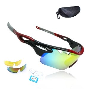 Óculos Ciclismo Prowest Insigne Troca Lentes UV400 Polarized