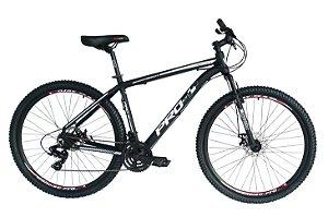 Bicicleta 29 Prowest 21 Marchas Index com Freio a Disco Preto