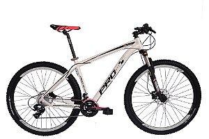 Bicicleta 29 Prowest 27 Vel Shimano Freio Hidraulico Susp Trava Cores