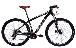 Bicicleta 29 Prowest 27 Vel Shimano Freio Hidraulico Susp Trava Preto