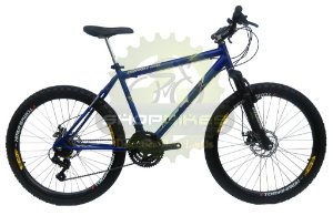 BIKE 26 MTB INOVATION 21V CAMBIOS SHIMANO FREIO A DISCO