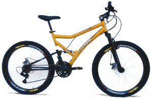 BIKE 26 FULL SUSPENSION EXTREME 21V CAMBIOS SHIMANO FREIO A DISCO