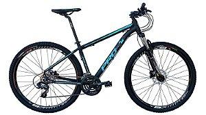 Bicicleta 29 Prowest 24 Marchas, Freio a Disco Hidraulico, Susp c/ Trava, Preto