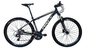 Bicicleta 29 Prowest 27 Marchas SR, Freio a Disco Hidraulico, Susp c/ Trava, Preto