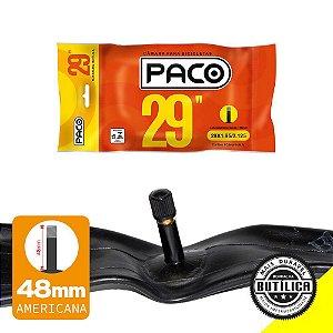 Camara de ar 29x1.90/2.35 PACO Bico Grosso