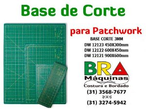 Base de Corte para Patchwork DW-12120 SERIES e SIMILARES