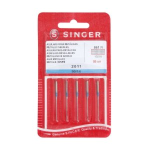 Agulha Singer 2011 para fios metalizados