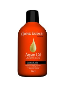 SHAMPOO ARGAN OIL QUINTA ESSÊNCIA 330ML