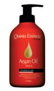 LEAVE IN ARGAN OIL QUINTA ESSÊNCIA 150ML
