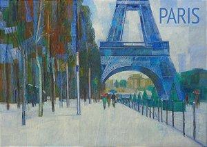 Pôster Cidade de Paris - França
