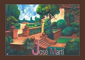 Pôster Cultivo uma Rosa Branca de José Martí