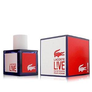Lacoste Live Eau de Toilette Lacoste - Perfume Masculino - 100ml