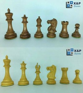 Jogo de Xadrez - Anderssen Series 3,75 polegadas - madeira