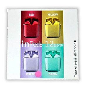 Fone de Ouvido Wireless inPods 12 Bluetooth 5.0