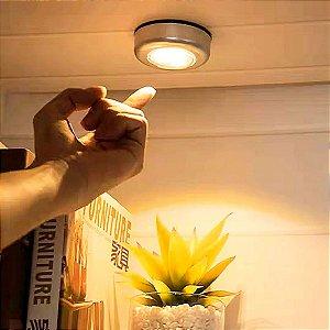 Luz Lâmpada Led De Toque Feixe de Luz Amarelo/Branco