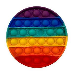 Pop It Fidget Brinquedo Bolha Sensorial Anti Stress Circulo
