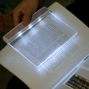 Luminária Para Leitura Led Luz Leitura Noturna Livro Ler