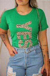 T-shirt Camisetão Yes Verde