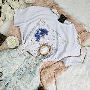 T-shirt Camisetão Universe Branca