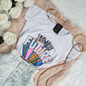 T-shirt Future Branca