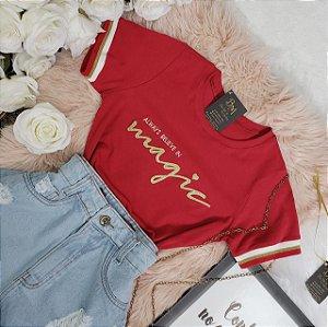 T-shirt Magic Vermelha