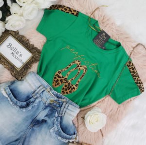T-shirt Sapatinho Verde