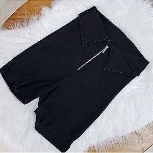 Shorts Bengaline Preto