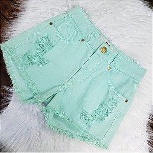 Shorts Jeans Verde 34