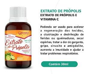 Extrato de Própolis com vitamina C