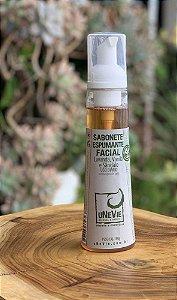 Sabonete Espumante Facial Castille 150g (Lavanda, Vanila e Sândalo)