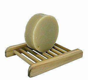 Shampoo em barra 90g (Lavanda, Lima e Aloe Vera - cabelos levemente oleosos)