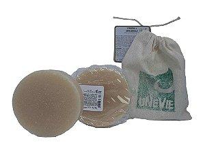 Shampoo em barra 90g (Verbena e Manjericão- cabelos oleosos)