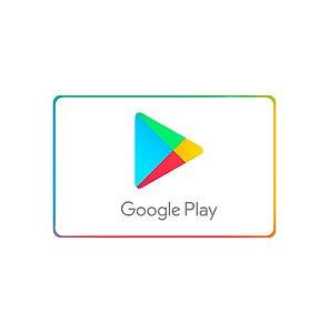 Gift Card Play Store de 30 Reais