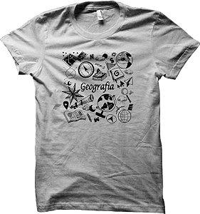 Camiseta Curso de Geografia