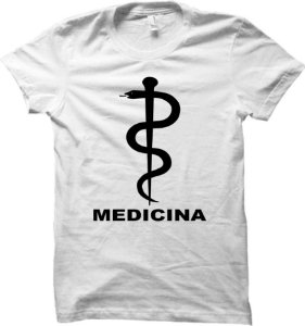 Camiseta Curso de Medicina