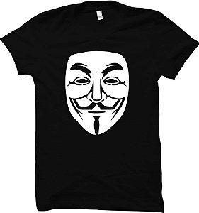 Camiseta Guy Fawkes - Anonymous