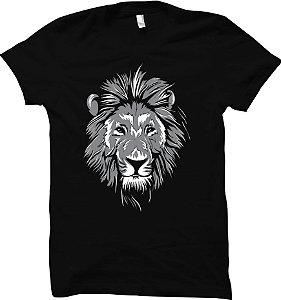 Camiseta Leão - Vida Selvagem