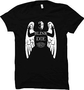 Camiseta Don't Blink - Anjo Lamentador