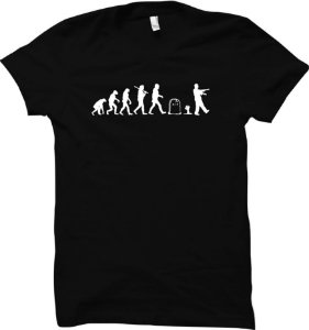 Camiseta Evolução Zumbi