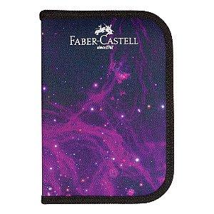 ESTOJO COMPLETO COSMIC PRETO FABER CASTELL 18.2221