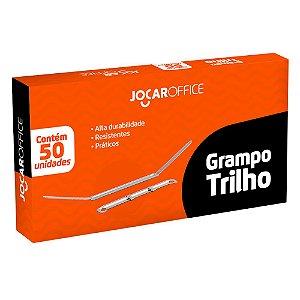 GRAMPO TRILHO METAL C/50 UN. JOCAR OFFICE 93037