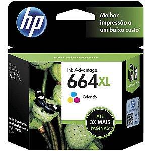 CARTUCHO HP 664XL COLORIDO ORIGINAL F6V30AB